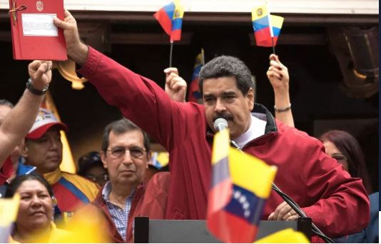 US Accuses Venezuelan President Maduro Of Concealing Large Illicit- drug Transactions In Crypto.
